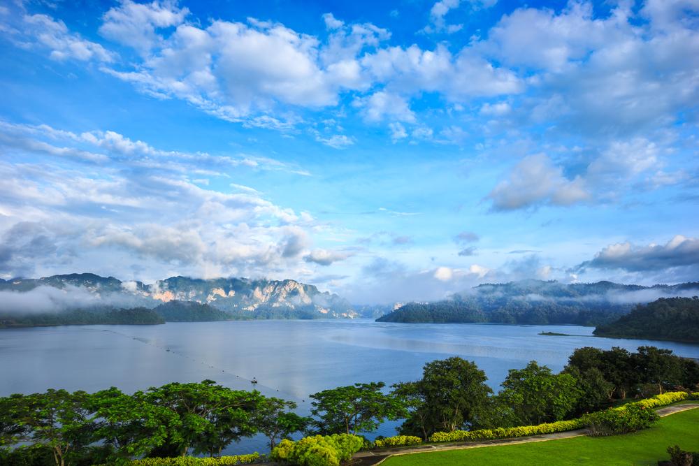 Ratchaprapha dam khaosok, Thailand