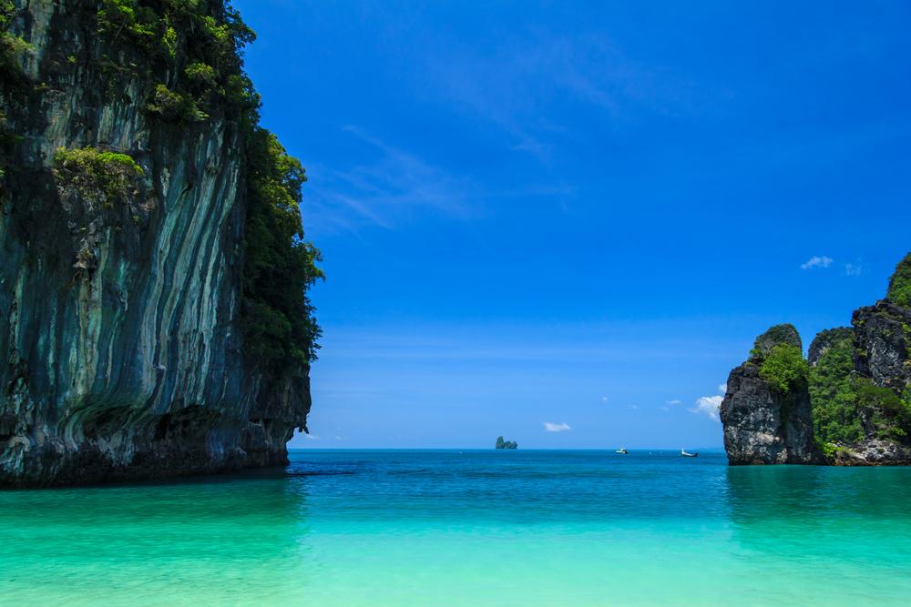 Hong Island, Andaman Sea, Krabi Thailand.