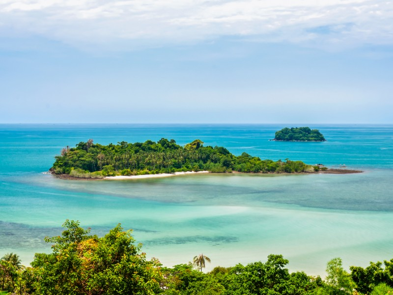 chang island ( koh chang). in Thailand