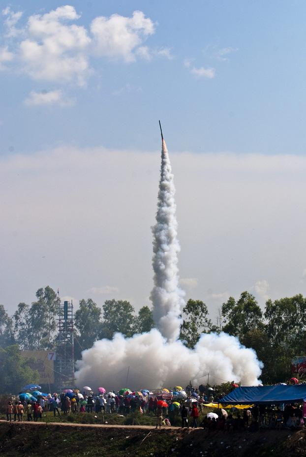 Rocket Festival, Yasothon *** Local Caption *** ประเพณีบุญบั้งไฟ  จังหวัดยโสธร