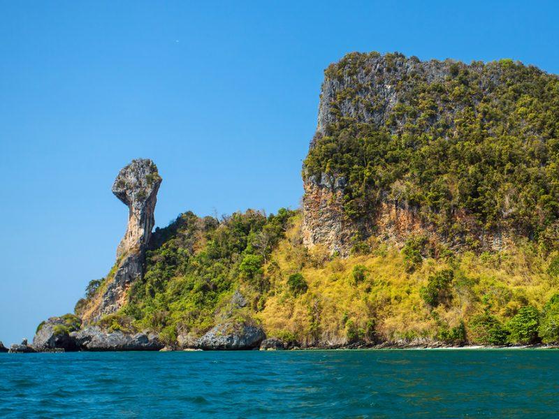 Chicken Island, Koh Kai, in the Andaman Sea, off the coast of Krabi, Thailand